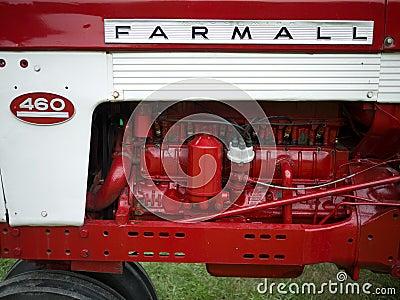 Antique Tractors Editorial Photography