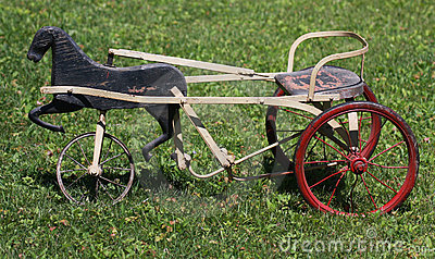 Antique tricycle