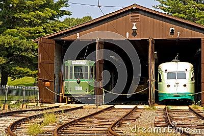 Antique Trolley Barn