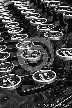 Antique Typewriter VII