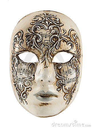 Antique Venetian mask
