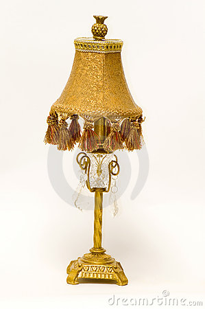 Antique Victorian desk lamp