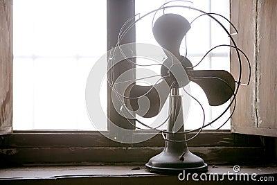 Antique vintage air fan