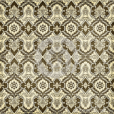 Free Antique Vintage Damask Style Pattern Christmas Wallpaper Background Royalty Free Stock Photos - 34173828