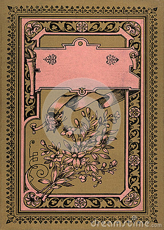 Free Antique Vintage Diary Journal Book Cover Stock Photo - 34173020