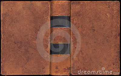 Antique Vintage Leather Book Cover