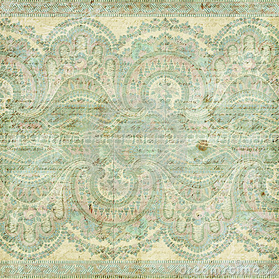 Free Antique Vintage Paisley Indian Background Royalty Free Stock Photos - 23162908