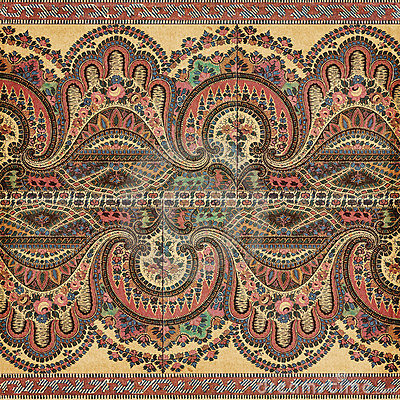 Antique Vintage Paisley Indian Background Stock Photos - Image ...