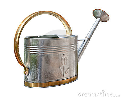 Antique Watering Can (with clipping path)