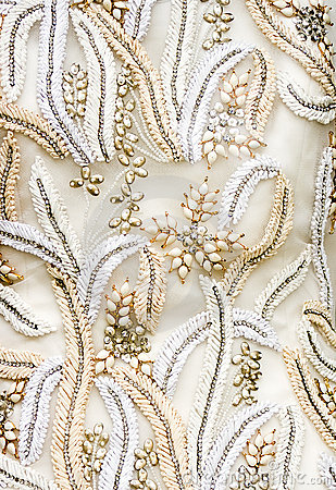 Antique Wedding Fabric