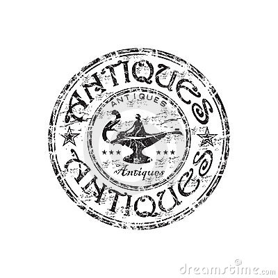Free Antiques Grunge Rubber Stamp Stock Images - 10089584