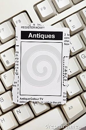 Antiques Sale ad