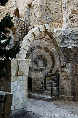 Antiquities near the western wall
