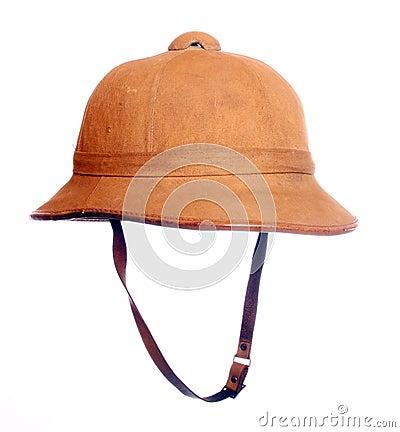 Antiquity cork helmet.