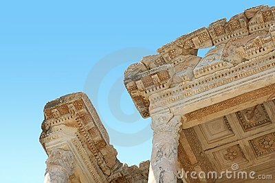 Antiquity greek city