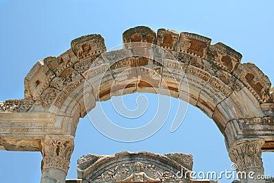 Antiquity greek city. Arc