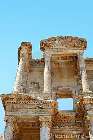 Antiquity greek city- Ephesus