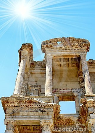 Antiquity greek city Ephesus