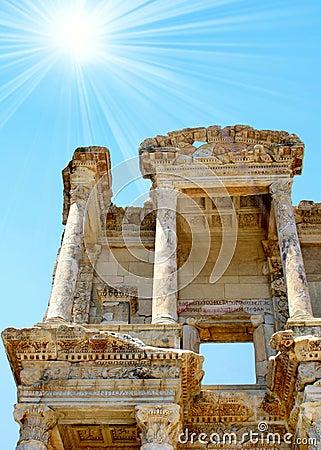 Antiquity greek city Ephesus