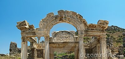 Antiquity greek city Ephesus.