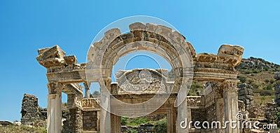 Antiquity greek city Ephesus.