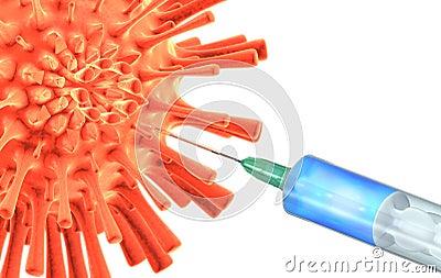 Antiviral vaccine making