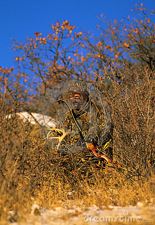 Antlers di crepitio di Bowhunter