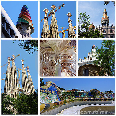Antoni Gaudi, Barcelona, Spain