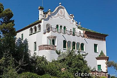 Antoni Gaudi Museum Guell Park Barcelona