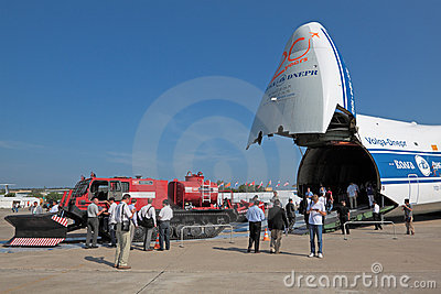 Antonov An-124-100 Editorial Stock Image