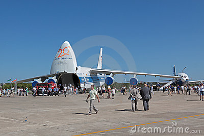 Antonov An-124-100 Ruslan Editorial Stock Photo