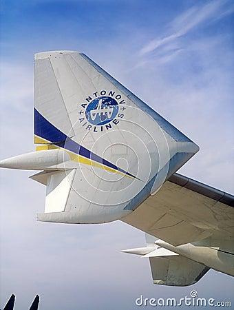 Antonov 225  Editorial Photo