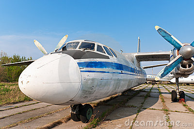 Antonov An-24 plane