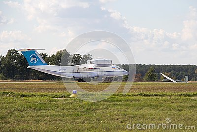 Antonov An-74 Editorial Photography