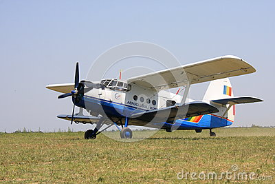 Antonov AN2 airplane Editorial Photo