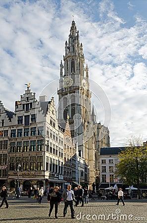 Antwerp Editorial Stock Image
