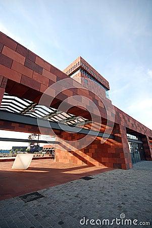 The MAS museum in Antwerp Editorial Photo