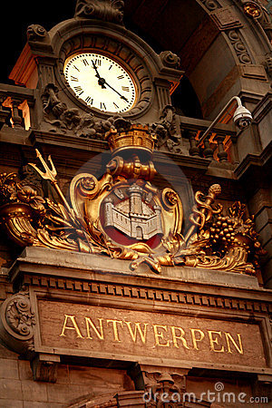 Antwerp Central railstation