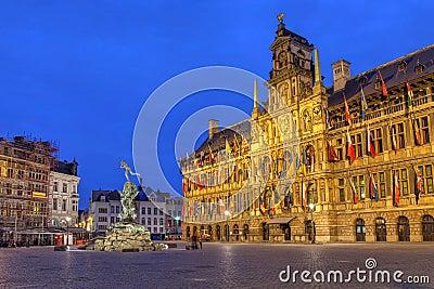 Antwerp City Hall, Belgium