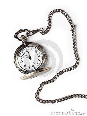 Antykwarski kieszeniowy zegarek