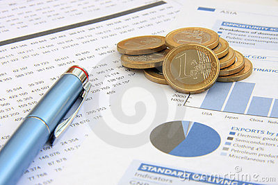 Anual Report Stock Images - Image: 4080784