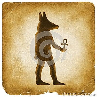 egyptian dog symbol