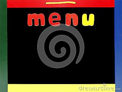 Anule o menu