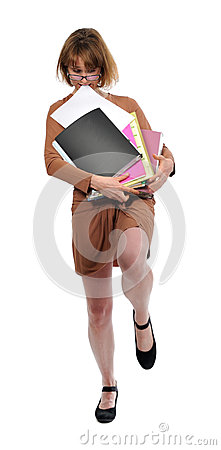 Free Anxious Busy Woman Stock Images - 30652314