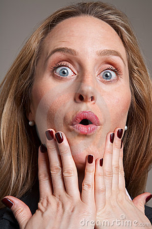 Free Anxious Woman Royalty Free Stock Photography - 10673277
