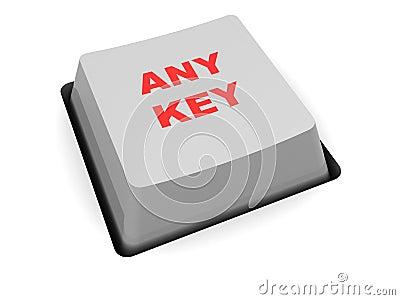 any key  button