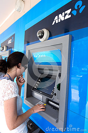 ANZ Bank  - Australia and New Zealand Banking Group Editorial Stock Photo