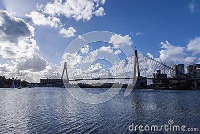 ANZAC Bridge Editorial Photo