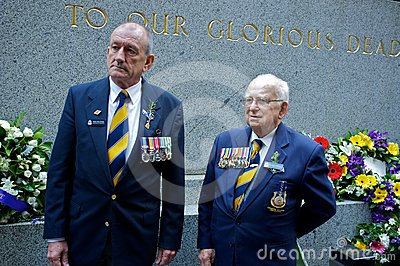 Anzac Day 2012 Editorial Stock Image