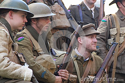 Anzac day commemorations Editorial Image